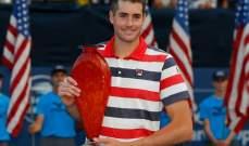 ايسنر يحرز لقب بطولة اتلانتا لكرة المضرب