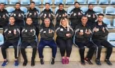 فريق الميني فوتبول في الجامعة اللبنانية إلى أوكرانيا