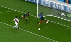 مبابي يهدي فرنسا بطاقة التأهل بفوز صعب امام بيرو المثابرة