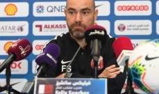 مدرب قطر: حققنا الفوز المطلوب وقدمنا صورة جيدة لبطل اسيا