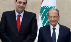 رئيس الجمهورية يهنىء الحلبي بانتخابه رئيساً لاتحاد كرة السلة