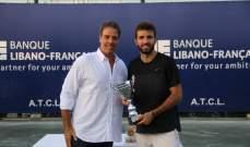 الاسباني جوردي مونتانا يحرز لقب دورة لبنان الدولية للتنس