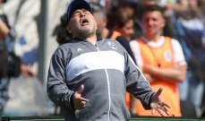 بعد انتظار مارادونا يحقق انتصاره الاول