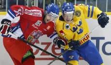 بطولة اوروبا الرباعية للهوكي : انتصاران لروسيا وتشيكيا