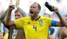 السويدي غرانكفيست يتخلى عن زوجته من أجل كأس العالم