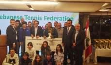 خاص لاعبة التنس ماريا ضاهر  : لبنان بدأ يتقدم على الصعيد الرياضي
