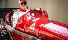 ماركوس إيركسون يقود سيارات الفا روميو كلاسيكية