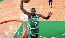 بوسطن يفوز على اورلاندو وباقي نتائج NBA