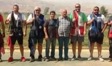 """رماية: بشير شبلي بطل المرحلة الثالثة من بطولة لبنان للتراب الفئة """"ب"""""""