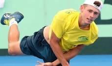 اليكس دي مينور يواجه أندرياس سيبي في نهائي دورة سيدني لكرة المضرب
