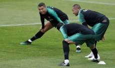 رونالدو يغيب عن مباراة الجزائر
