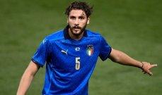 لوكاتيلي:اهدي الهدف الاول لعائلتي والثاني لمشجعي ايطاليا