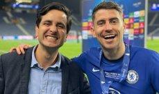 جورجينيو ينفّذ الرهان الغريب مع مراسل برازيلي بعد الفوز بدوري الابطال