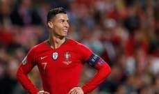 رونالدو جاهز لمواجهة السويد