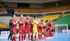 ناغويا الى الدور النهائي من بطولة اسيا لاندية كرة الصالات