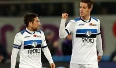 كأس ايطاليا: تعادل مثير بين فيورنتينا واتلانتا في مباراة ثلاثية الابعاد والحسم يتأجل