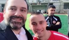 """وليد إسماعيل ينشر صورة """"سيلفي"""" مع الرئيس الحريري"""