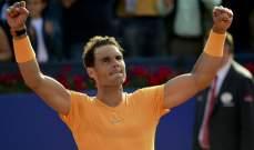 نادال يكمل سيطرته على صدارة التصنيف العالمي للاعبي التنس المحترفين