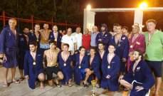 بطولة لبنان في كرة الماء: اللقب لنادي ساتيليتي