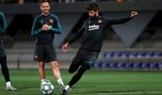 رقم مميز لـ بيكيه مع برشلونة