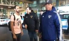 خوانفران يصل ساوباولو معرباً عن سعادته بهذه الخطوة
