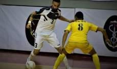 بنك بيروت يتخطى فريق الجيش ليصل الى نهائي كأس لبنان للصالات