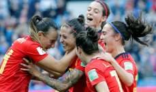 كأس العالم للسيدات: اسبانيا تتصدر مجموعتها بالفوز على جنوب افريقيا