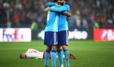 مرسيليا الى نهائي الدوري الاوروبي بعد مباراة عصيبة امام سالزبورغ