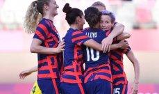 طوكيو 2020 – كرة قدم للسيدات: منتخب الولايات المتحدّة يحقق الميدالية البرونزية