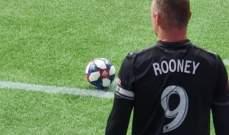 واين روني يثير الجدل في الدوري الاميركي