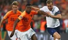 كاين يرثي أخطاء إنكلترا المكلفة أمام هولندا