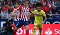 ظهير اتلتيكو مدريد يفتح الباب امام برشلونة
