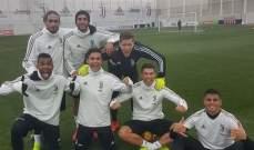 رونالدو سعيد بفوز فريقه في التدريبات