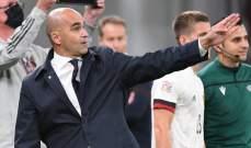 مارتينيز يشيد بفوز بلجيكا من دون نجومها على الدنمارك