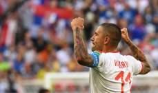 كولاروف أفضل لاعب في مباراة صربيا وكوستاريكا