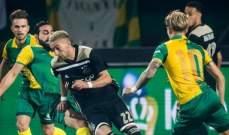 الدوري الهولندي: اجاكس يتابع ملاحقة ايندهوفن بفوز جديد
