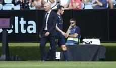 بايل يعود لقائمة ريال مدريد وفينيسيوس يواصل الغياب