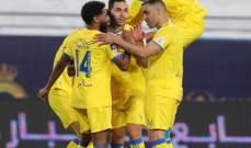 الدوري السعودي: النصر يكتسح الباطن بسباعية والهلال يفوز على القادسية