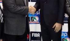 بيان شكر من رئيس اتحاد كرة السلة
