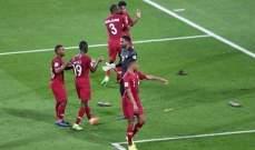الاماراتيون يطلقون صافرات الاستهجان خلال النشيد الوطني القطري