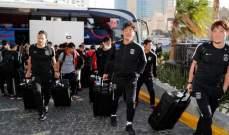 وصول أوراوا الياباني الى ابو ظبي للمشاركة في مونديال الاندية