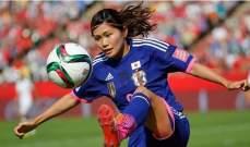لاعبة المنتخب الياباني تنسحب من مسيرة الشعلة الأولمبية