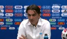 داليتش : كرواتيا في نصف النهائي وسنستمتع بكأس العالم