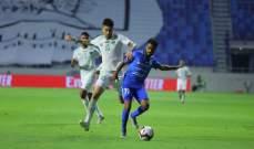 النصر يسقط الامارات بثلاثية في الدوري الاماراتي