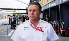 براون: التعاون في الفورمولا 1 يعطي ميزة تنافسية