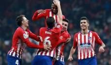 ليمار يدعم صفوف اتلتيكو مدريد قبل لقاء بلد الوليد