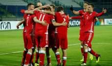 دوري الأمم الأوربية: بيلاروسيا الى المستوى الثالث وفوز معنوي للنمسا