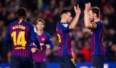 وكيل مهاجم برشلونة يهاجم مدرب النادي الكتلوني
