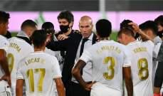 ريال مدريد كامل الصفوف استعداداً لمنافسات دوري الابطال