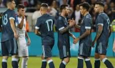 ديبالا سعيد بالاداء الذي قدمه المنتخب امام الاوروغواي